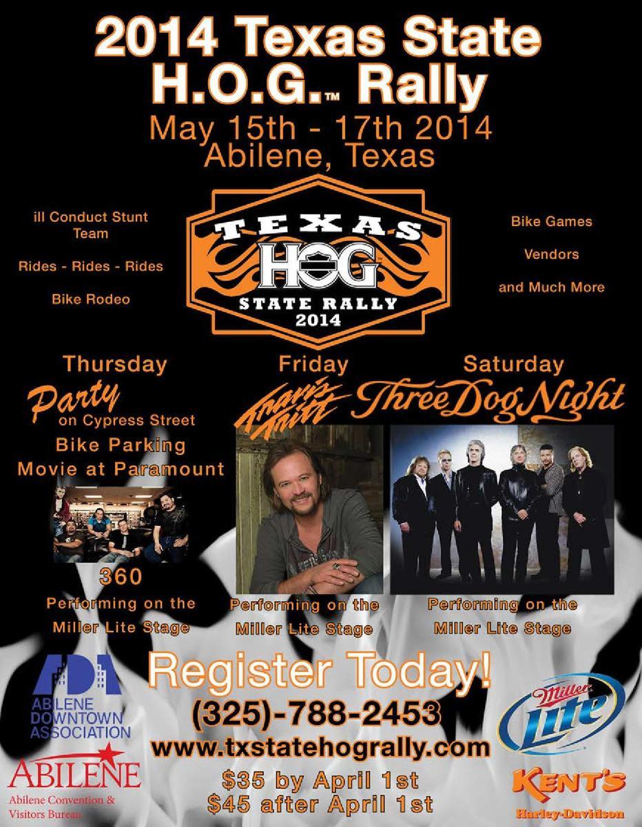 HOG TX Rally-